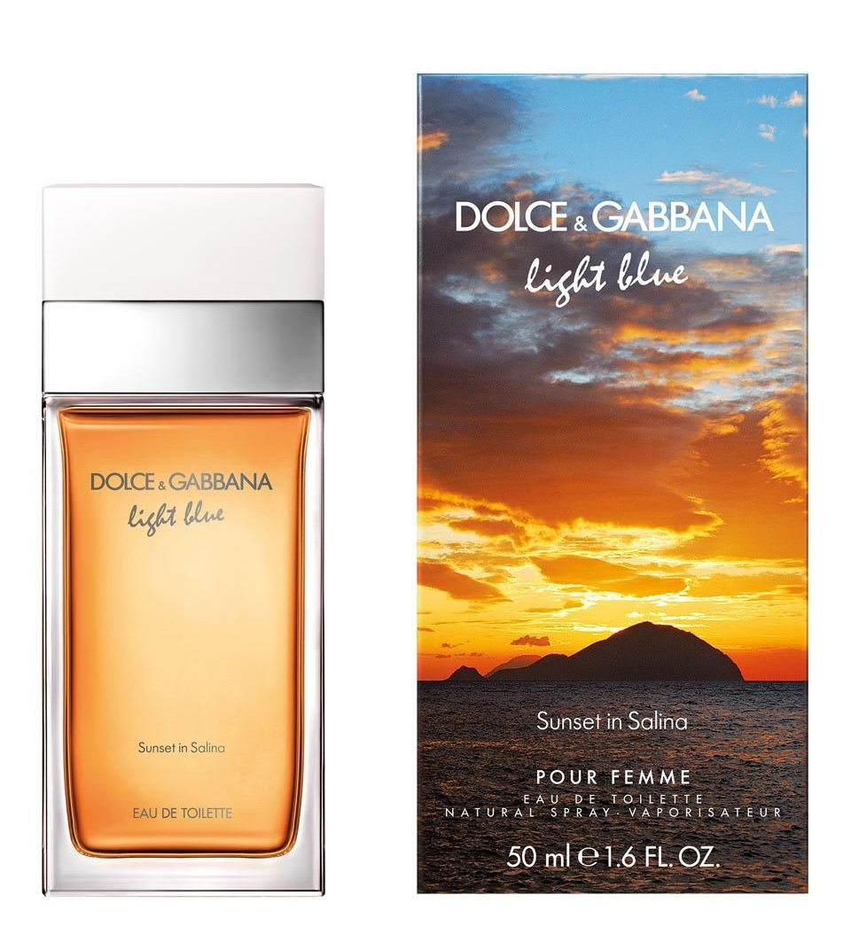 Light Blue Sunset In Salina (Dolce & Gabbana)