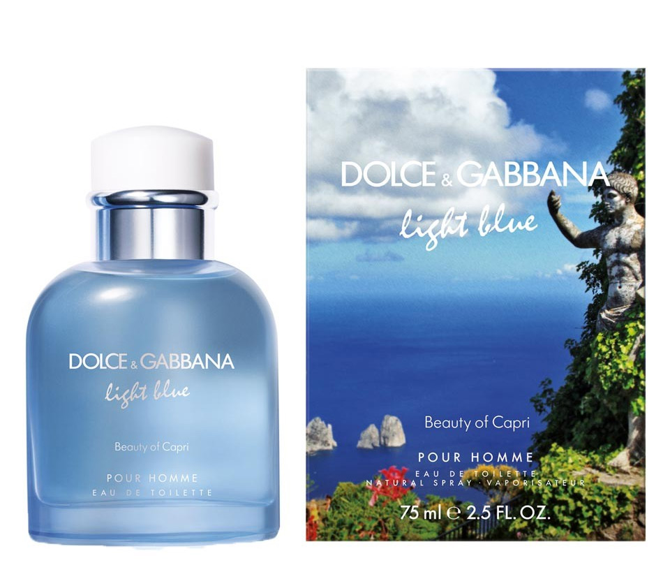 Light Blue beauty of capri (Dolce & Gabbana)